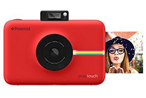 Red Polaroid Snap Touch Camera