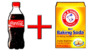 Cola + Baking Soda